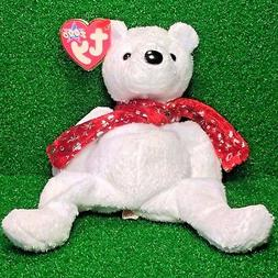 RETIRED Holiday Teddy 2000 TY Beanie Baby RARE Plush Toy - M