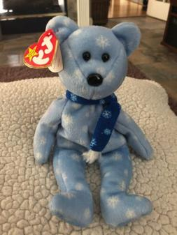 retired original beanie babies 1999 holiday teddy