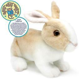 Robbie the Rabbit | 11 Inch Realistic Stuffed Animal Plush B