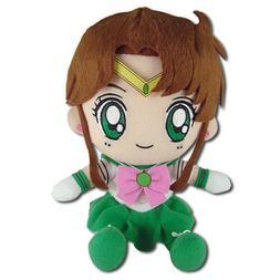 "Sailor Moon Sailor Jupiter 7"" Sitting Plush Toy Official Lic"