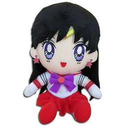 Sailor Moon Sailor Mars Rei Hino Sitting Plush Toy 7-inch Of