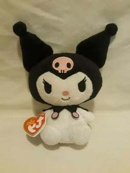 TY Sanrio Kuromi Beanie Baby Plush Toy MWT