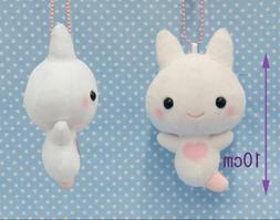 "Amuse Sea Angel Fairy Clione Chan Ball chain 4"" Plush Doll T"