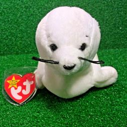 SEAMORE The SEAL 1996 Retired TY BEANIE BABY Rare PVC Plush