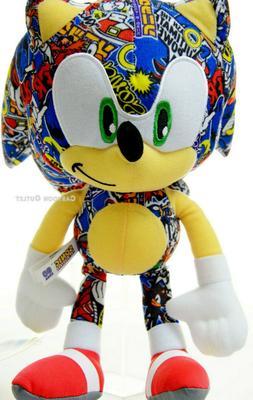 "Sega Sonic The Hedgehog 12"" Plush Stuffed Doll Toy Gift Boys"