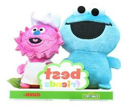 Sesame Street Best Friends 4 Inch Plush Set | Cookie Monster