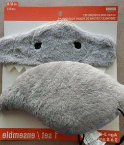 Creatology Shark Costume Dressup Pretend Play Soft Plush NWT
