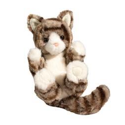 "Shorthair Cat Stuffed Animal 6"""