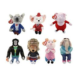 TY Beanie Babies - SING - SET OF 7  - Free Gift with Purchas