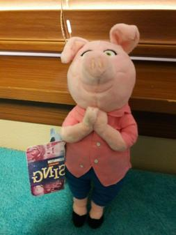 "Sing Rosita Pig 8"" Plush Illumination Presents NWT"