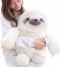 Winsterch Sloth Stuffed Animal Plush Toy Baby Doll Kids Gift