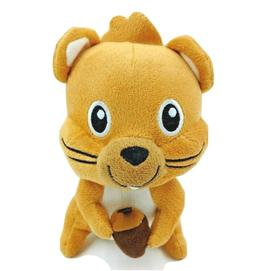 """Small Funny Squirrel Plush Stuffed Animal Toy Brown 7"""" Roden"""