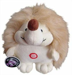 Small Plush Hedgehog Interactive Dog Toy with Cute Chatterin