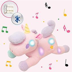 "GOWIN Smart Plush Unicorn Toy, 22"" Light Up Magical Bluetoot"