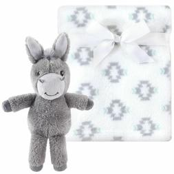 - Hudson Baby Plush Blanket and Toy Set, Snuggly