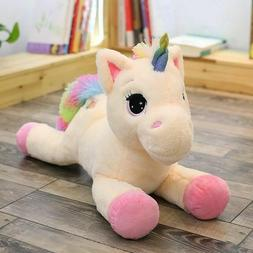 Soft Giant Plush Jumbo Unicorn Toys Stuffed Animal Doll Kids