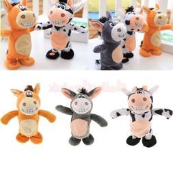 Soft Stuffed Plush Doll Talking Animal Toys Sound Recorder N