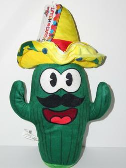 Toy Factory Sombrero Cactus Mexican Plush Paradise 12' Musta
