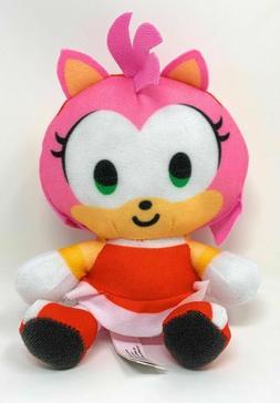 Sonic the Hedgehog Amy Plush Stuffed Figure SEGA Boys Girls