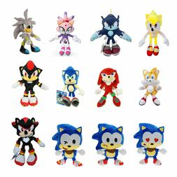 Sonic The Hedgehog Figures Plush Toys lot Stuffed Animal Dol