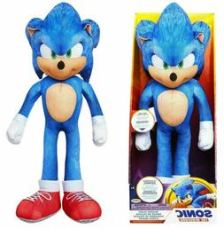 Sonic the Hedgehog MOVIE Sonic Talking 13-Inch Plush NEW 202