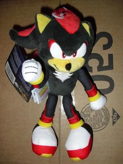 """Tomy Sonic the Hedgehog Shadow 8"""" plush Sonic toy action fig"""