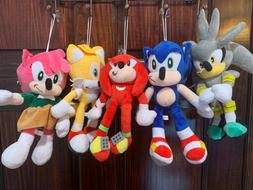 Sonic the hedgehog soft plush figure Doll toy : Shadow Tails