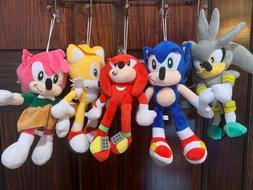 sonic the hedgehog soft plush figure doll