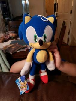 "Sega Sonic The Hedgehog Stuffed Plush Character Toy 12"" Auth"