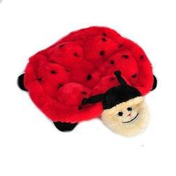 ZippyPaws Squeakie Crawler 6-Squeaker Plush Dog Toy, Betsey