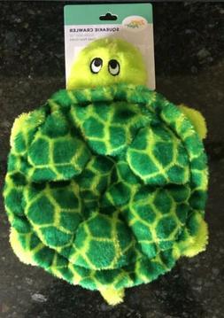ZippyPaws - Crawlers, 6-Squeaker Plush Dog Toy - Slowpoke Th