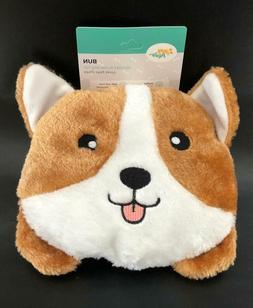 ZippyPaws Squeaky Corgi - Plush Dog Toy - Pillow Bun Stuffed