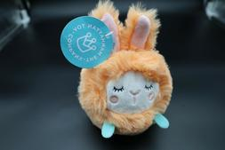 The Manhattan Toy Company SqueezeMeez Plush BUNNY Ball Round