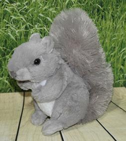 Wild Republic Squirrel Plush, Stuffed Animal, Plush Toy, Gif