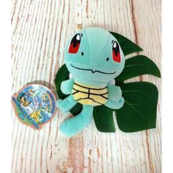 "Pokemon Squirtle 7"" Stuffed Plush Toy Takara Tomy Anime Mang"