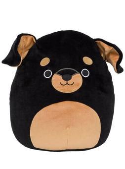 "Kellytoy Squishmallow 5"" Mateo The Rottweiler Dog Mini Super"
