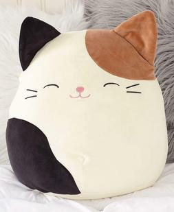squishmallow cam cat stuffed animal soft plush