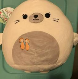 "Squishmallow Lucille Seal Sea Life 12"" Plush Animal Toy Pi"