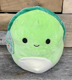 "Kellytoy Squishmallow Plush 8"" Henry Turtle Sea Life Squad"