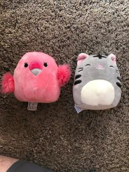 squishmallows 5 in plush toy set of
