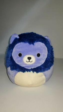 "Squishmallows 8"" Bright Squad Lion plush kellytoy limited ed"