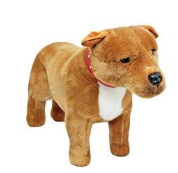 Bocchetta Plush Toys Staffordshire Terrier Standing Staffy D