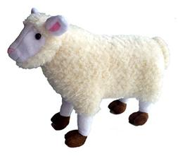 """ADORE 14"""" Standing Merry the Sheep Stuffed Animal Plush Toy"""