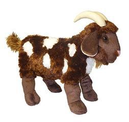 standing mocha spotted goat stuffed
