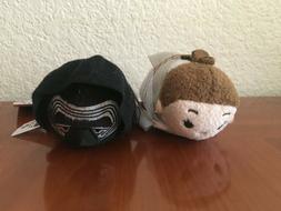 "Disney Star Wars Tsum Tsum Plush Toy Small 3.5"" Kylo Ren & R"