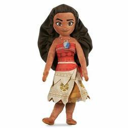 "Disney Store Authentic Moana Princess Plush Toy Doll 20"" H N"