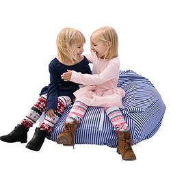 LARGE Stuffed Animal Bean Bag Storage - Premium Childrens Pl