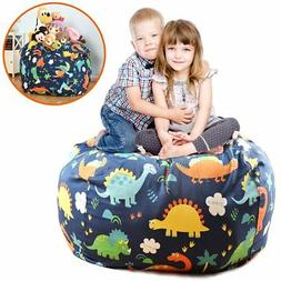 Brolex Extra Large 38'' Stuffed Animals Bean Bag Chair Cover