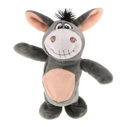 Stuffed Plush Doll Talking Donkey Toys Sound Recorder Novelt