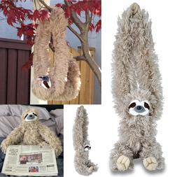 Wild Republic Stuffed Plush Sloth Soft Toys For Kids Realist